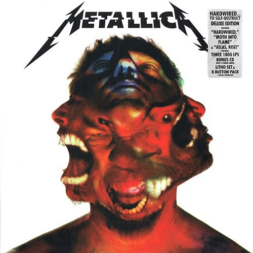 Metallica - Hardwired...To Self-Destruct [Blackened Recordings, EU, 3LP (VinylRip 24/192)] (2016)