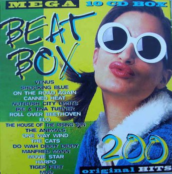 VA - Mega Beat Box - 200 Original Hits [10CD Box Set] (1997)