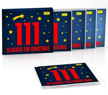 VA - 111 Classics for Christmas [5CD Box Set] (2014)