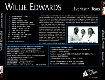 Willie Edwards - Everlastin' Tears (1996)
