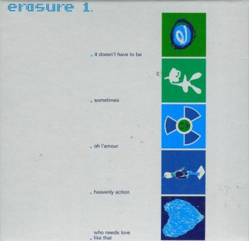 Erasure - 1. Singles [5CD Remastered Box Set] (1999)
