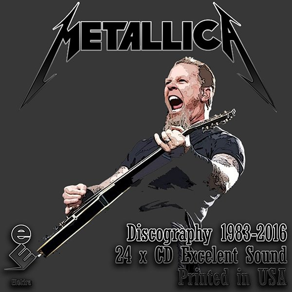METALLICA «Discography 1983-2016» (24 x CD • Elektra Entertainment Group • Issue 1985-2016)