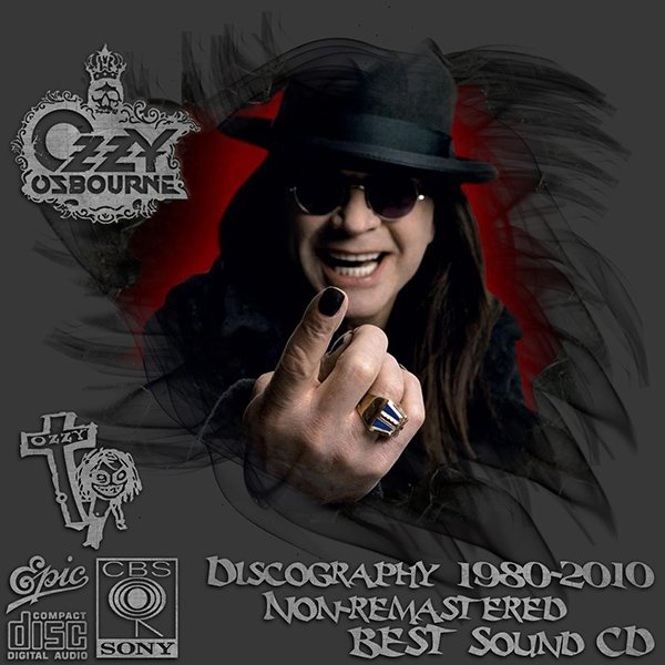 OZZY OSBOURNE - Discography (25 x CD • Epic Records • 1980-2010)