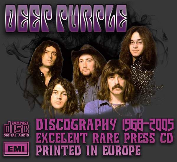 DEEP PURPLE - Discography (22 x CD • Non-remastered • 1968-2005)