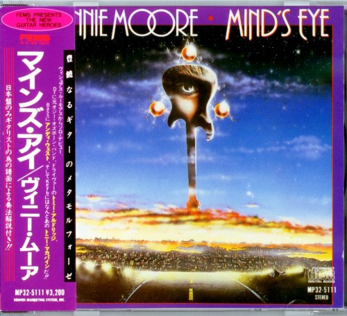 Vinnie Moore - Mind's Eye (1986) [Japan 1st Press 1987]