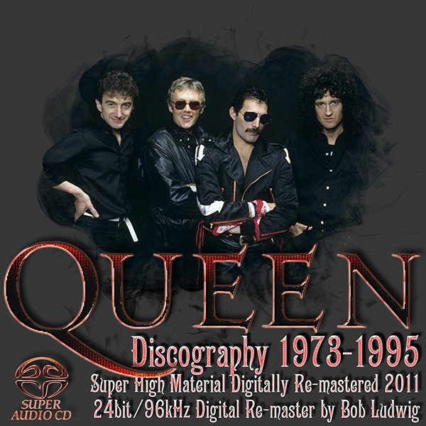 QUEEN «Discography 1973-1995» (17 x SHM-SACD • Universal International, Japan • Remaster 2011)