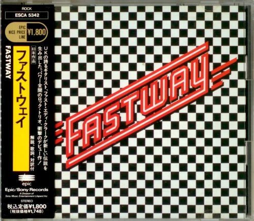 Fastway - Fastway [Japanese Edition, 1st Press] (1983)