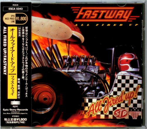 Fastway - All Fired Up [Japanese Edition, 1st Press] (1984)