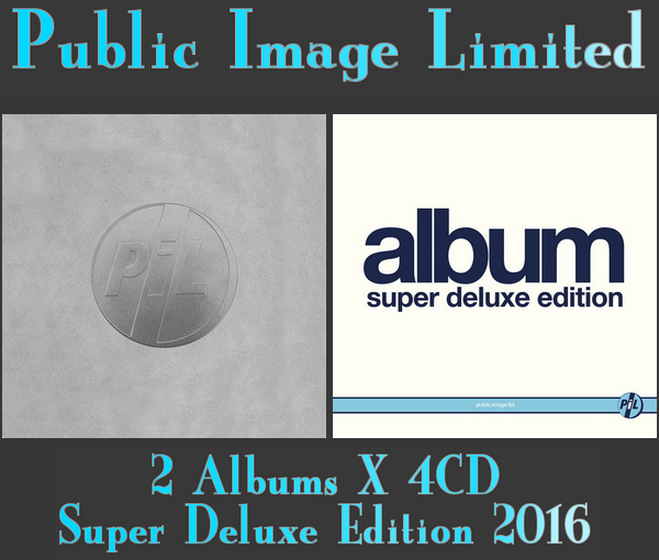 PiL: 1979 Metal Box • 1985 Album - 2 x 4CD Super Deluxe Edition Box Set Universal Music 2016