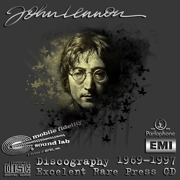 JOHN LENNON «Original Master Recording + 1st Press» Series– (15 x CD • Collection 1969-1997)