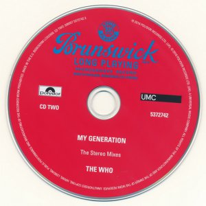 The Who: 1965 My Generation / 5CD Box Set Polydor Records 2016