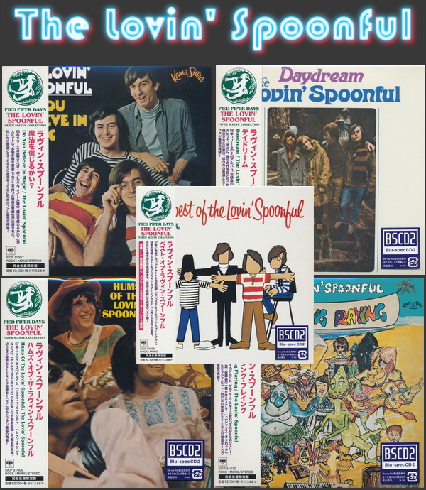 The Lovin' Spoonful: 5 Albums - Mini LP Blu-spec CD2 Sony Music Japan 2016