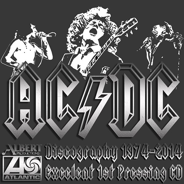 AC/DC «Discography 1974-2014» (20 x CD • 1st Press • Issue 1983-2014)