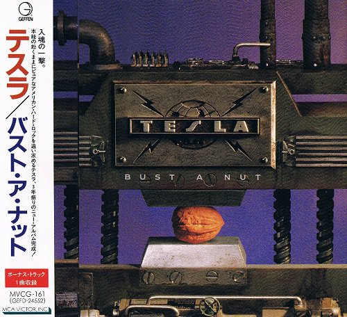 Tesla - Bust A Nut [Japanese Edition] (1994)