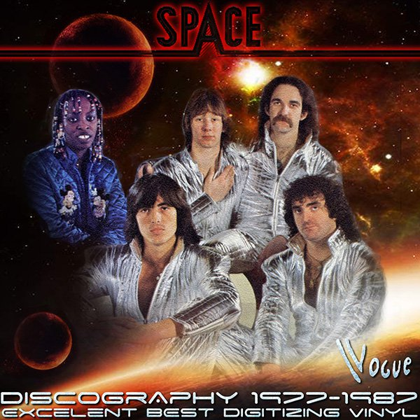 SPACE & DIDIER MAROUANI «Discography on vinyl» (13 x LP • Disques Vogue • 1977-1987)