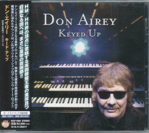 Don Airey - Keyed Up [Japanese Edition] (2014)