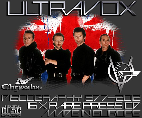 ULTRAVOX ?Discography? (16 x CD ? Crysalis Records Limited ? 1977-2012)