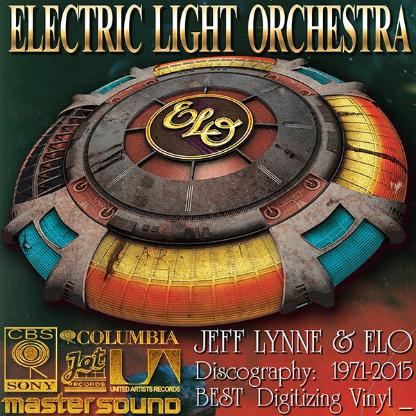 JEFF LYNNE & ELECTRIC LIGHT ORCHESTRA «Discography on vinyl + solo» (20 x LP • 14 albums • 1971-2015)