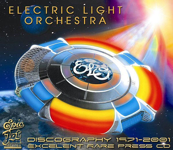 ELECTRIC LIGHT ORCHESTRA - Discography (23 x CD • 1st Press • Re-issue 1983-2001)
