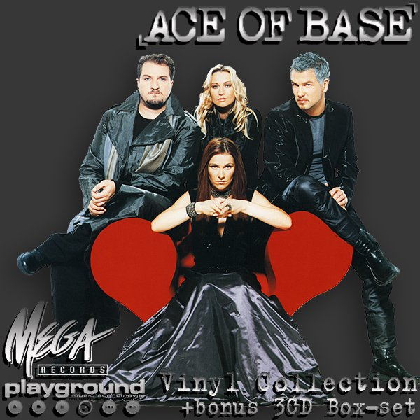 ACE OF BASE - Vinyl Collection + bonus (6LP + 3CD • PlayGround Music AB • 1991-2016)