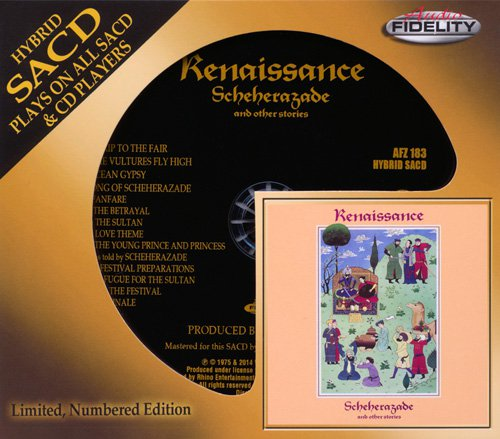 RENAISSANCE «Scheherazade and other stories» (1975) (US 2014 Audio Fidelity SACD • AFZ 183)