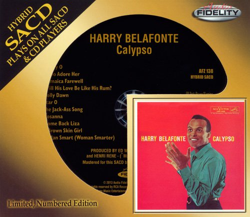 HARRY BELAFONTE - Calypso (1956) (US 2013 Audio Fidelity • AFZ 138)