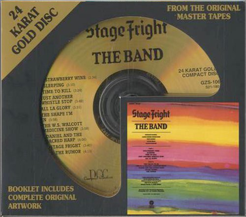 THE BAND «Stage Fright» (1970) (US 1994 DCC Compact Classics • GZS-1061)