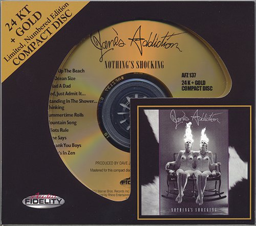 JANE'S ADDICTION «Nothing's Shocking» (1988) (US 2012 Audio Fidelity • AFZ 137)