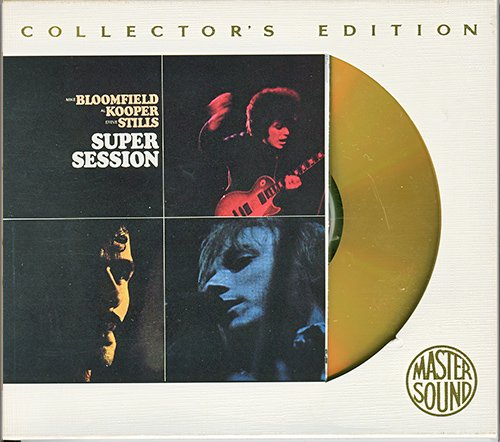 MIKE BLOOMFIELD, AL KOOPER & STEVE STILLS - Super Session (1968) (US 1995 MasterSound SBM • CK 64611)