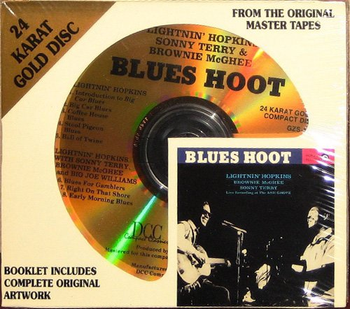 HOPKINS-McGHEE-TERRY - Blues Hoot (1961) (US 1995 DCC Compact Classics, Inc. • GZS-1081)