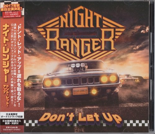 Night Ranger - Don't Let Up [Japanese Edition] (2017)
