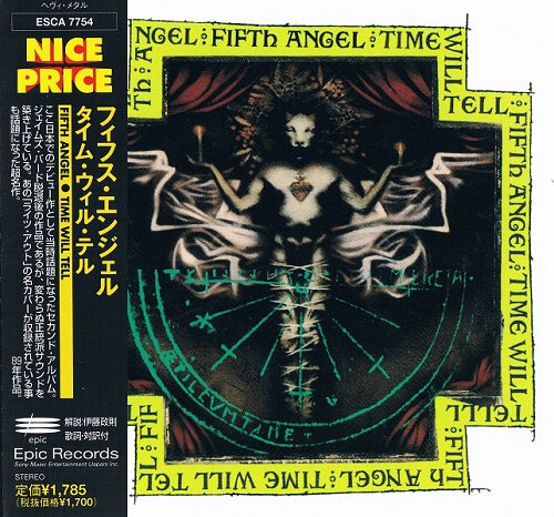 Fifth Angel - Time Will Tell [Japanese Edition, 1st Press] (1989)