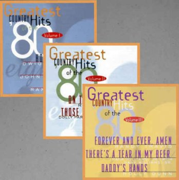 VA - Greatest Country Hits of the '80s Volume 1-3 (1995)