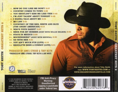 Toby Keith - Greatest Hits 2 (2004)