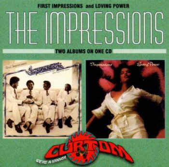 The Impressions - First Impressions & Loving Power (1997)