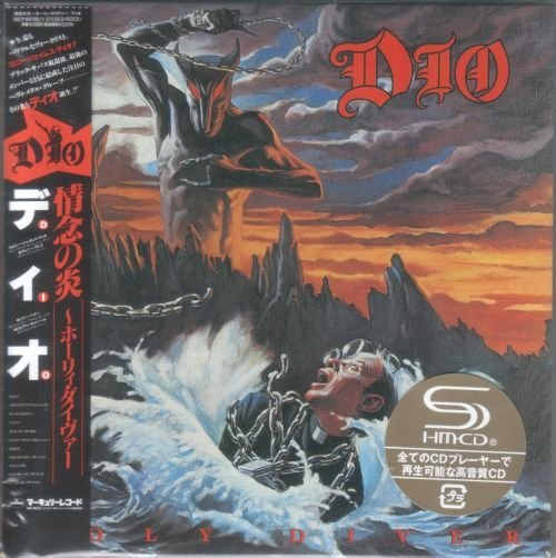 Dio (Ronnie James Dio) - Holy Diver 1983 [2 SHM-CD, Deluxe Japanese Edition, Remastered] (2012)