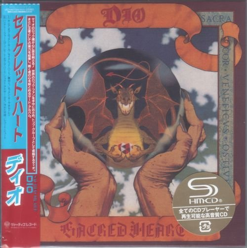 Dio (Ronnie James Dio) - Sacred Heart 1985 [2 SHM-CD, Deluxe Japanese Edition, Remastered] (2012)