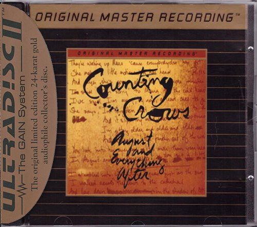 COUNTING CROWS «August And Everything After» (1993) (US 1996 Mobile Fidelity Sound Lab • UDCD 664)