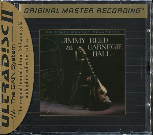 JIMMY REED «At Carnegie Hall & The Best Of» (1961) (US 1992 MFSL • UDCD 566)