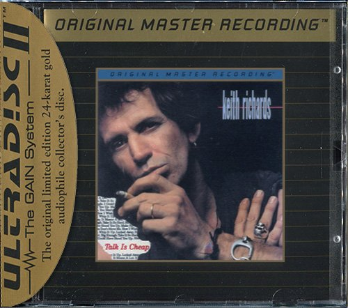 KEITH RICHARDS «Talk Is Cheap» (1988) (US 1992 Mobile Fidelity Sound Lab • UDCD 557)