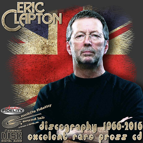 ERIC CLAPTON «Discography» (45 x CD • Excelent Rare Pressing CD • 1966-2016)