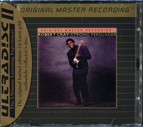 ROBERT CRAY «Strong Persuader» (1986) (US 1993 Mobile Fidelity Sound Lab • UDCD 564)