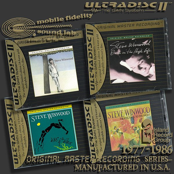 STEVE WINWOOD «Original Master Recording Series» – (4 x CD • MFSL • 1977-1986)
