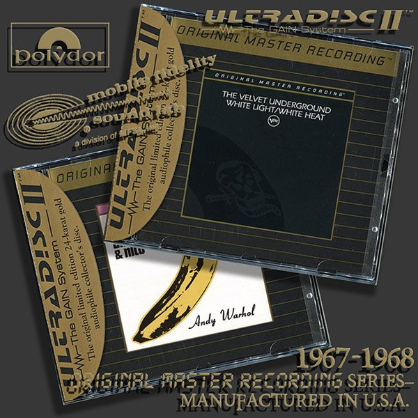 THE VELVET UNDERGROUND «Original Master Recording Series» – (2 x CD • MFSL • 1967-1968)