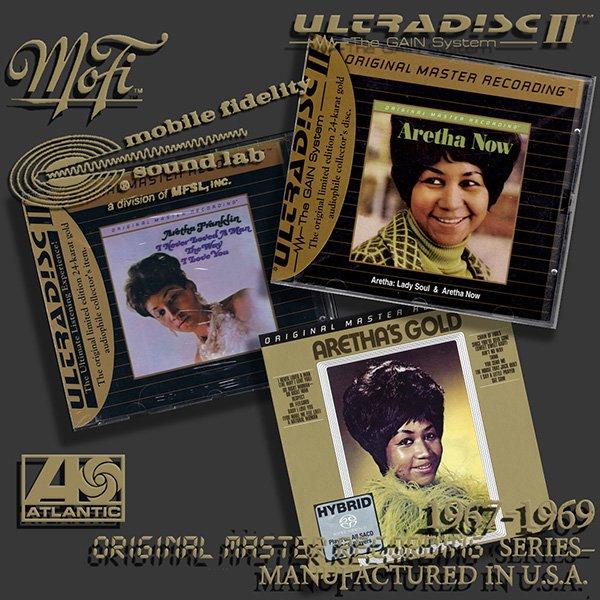 ARETHA FRANKLIN ?Original Master Recording? Series? (3 x CD ? MFSL ? 1967-1969)