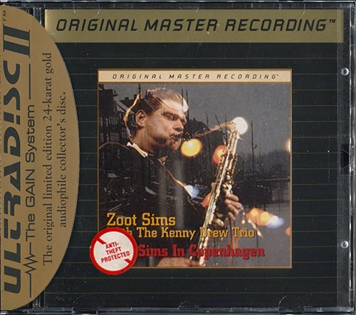 ZOOT SIMS with THE KENNY DREW TRIO «Zoot Sims In Copenhagen» (1978) (US 1995 MFSL • UDCD 694)