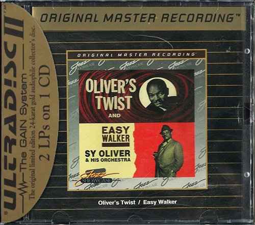 SY OLIVER «Oliver's Twist & Easy Walker» (1960, 62) (US 1995 MFSL • UDCD 638)