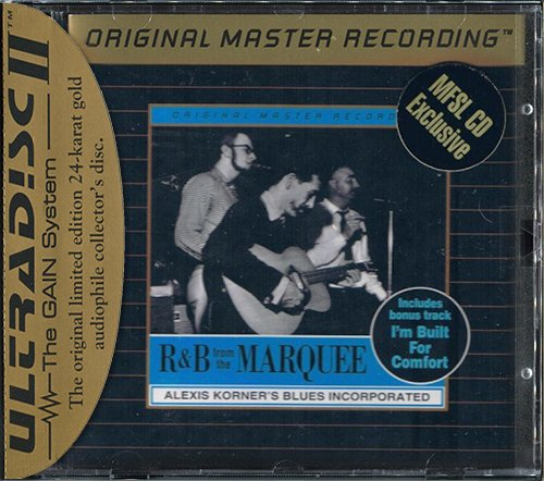 ALEXIS KORNER'S BLUES INCORPORATED «R & B From The Marquee» (1962) (US 1996 MFSL • UDCD 657)