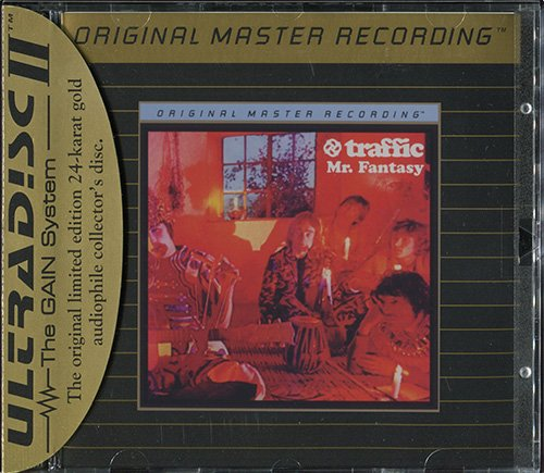 TRAFFIC «Original Master Recording» Series – (4 x CD • Mobile Fidelity Sound Lab • 1993-1996)
