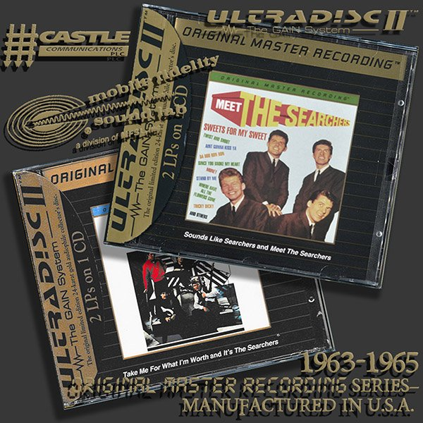 THE SEARCHERS «Original Master Recording» Series – (2 x CD • Mobile Fidelity Sound Lab • 1996-1997)